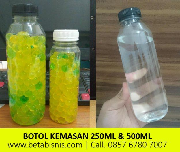 Botol Plastik Minuman 250ml dan 500ml Kale di Pekanbaru