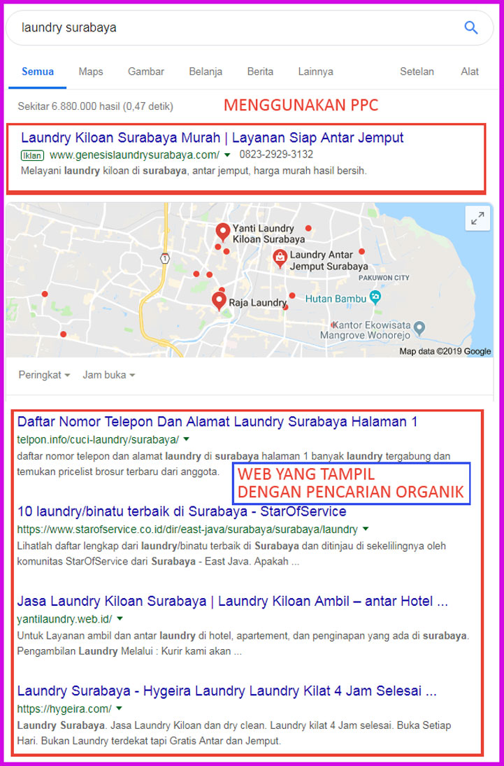 Internet Marketing untuk Laundry di Pekanbaru