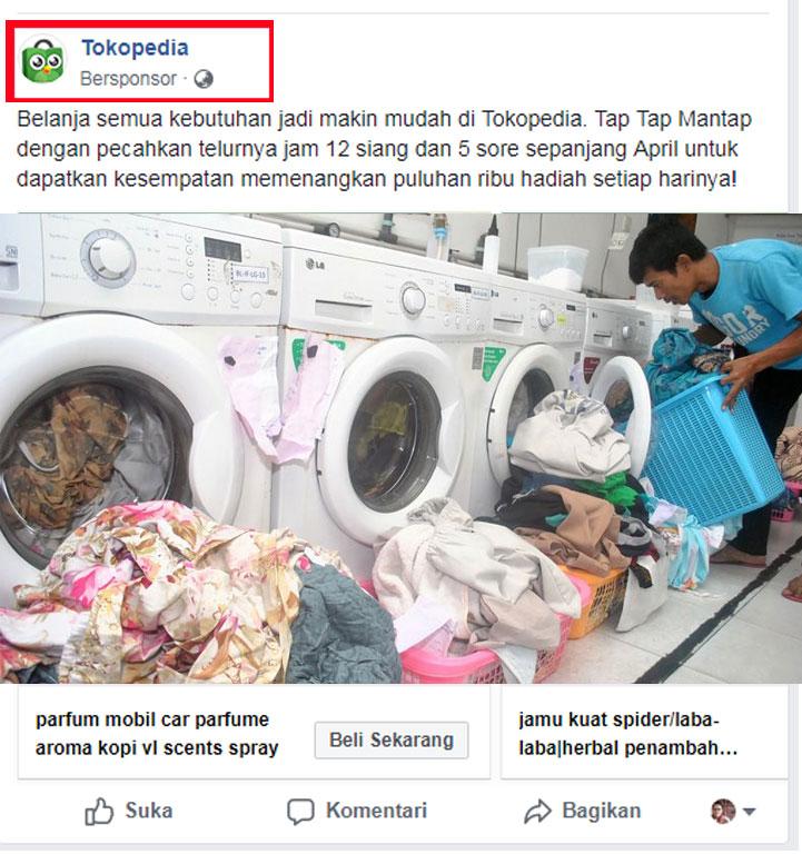 Belajar Facebook Ads untuk Laundry