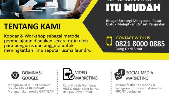Kelas Bisnis Online Laundry Pekanbaru