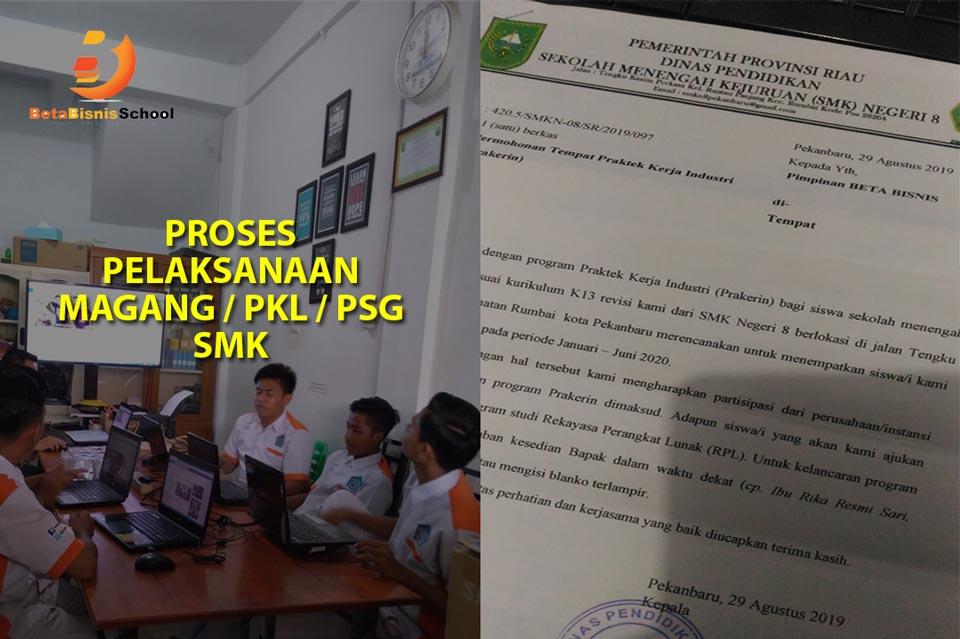 Proses Pelaksanaan Magang SMK Jurusan TKJ RPL di Pekanbaru