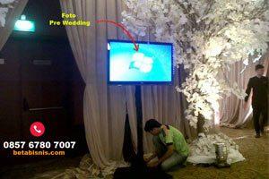 Sewa TV Pekanbaru untuk Pernikahan